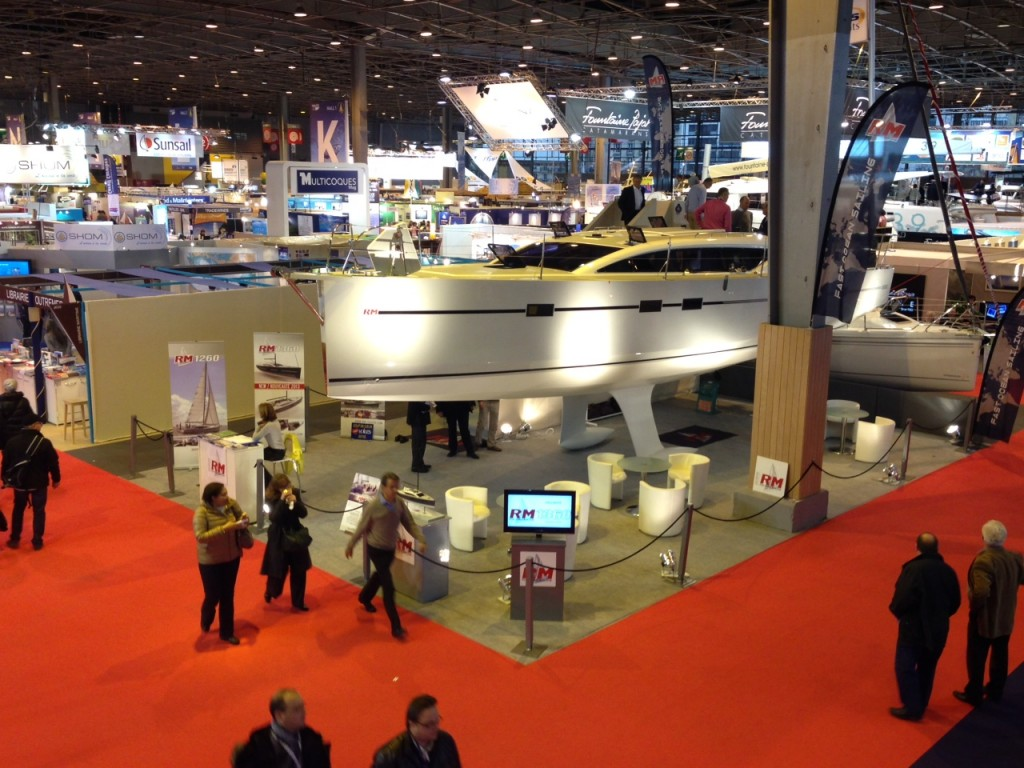Salon nautique international de paris il 7 dicembre si for Salon nautisme paris