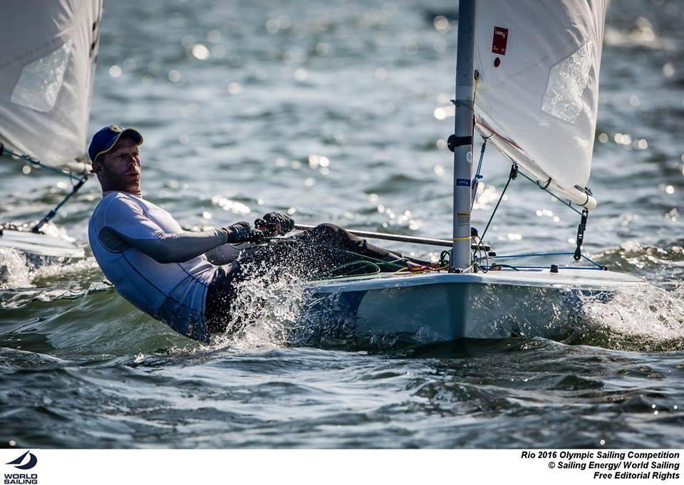 Robert Scheidt, forse il velista più atteso dei Giochi, si gioca la possibilità di conquistare la sesta medaglia olimpica. Mai nessuno prima c'è riuscito. Foto Sailing Energy