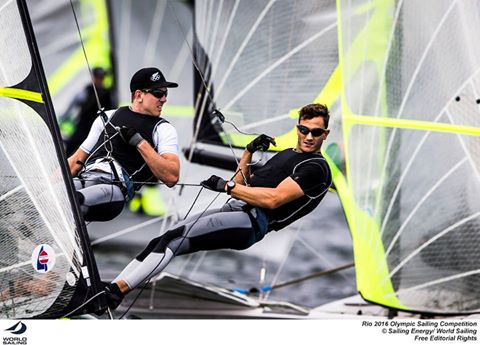 Peter Burling e Blair Tuke, imbattuti da due anni, sono i favoriti nei 49er. Foto Sailing Energy