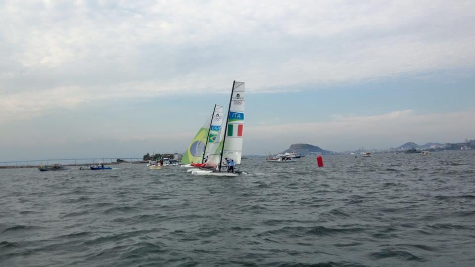 Il Nacra italiano conclude la Medal in settimo posto e conclude al quinto posto l'Olimpiade