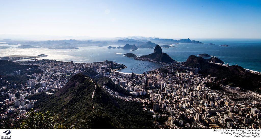Rio de Janeiro e la Baia di Guanabara. Foto Sailing Energy
