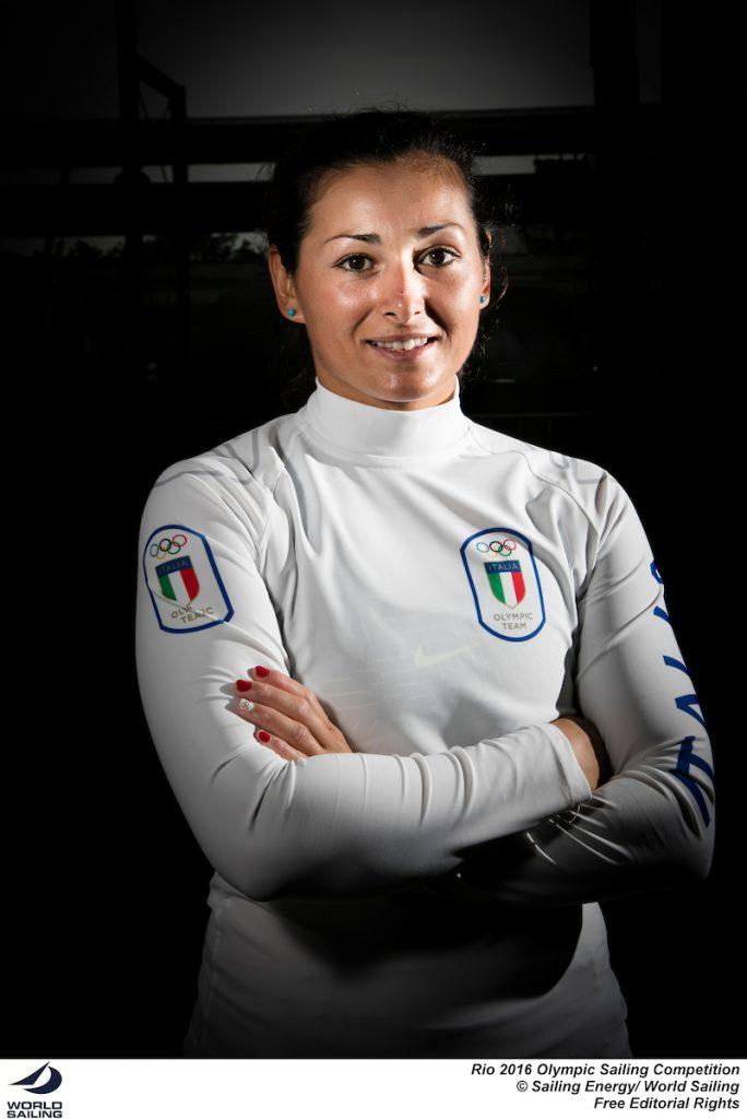 Silvia Zennaro, Laser Radial. Foto Sailing Energy