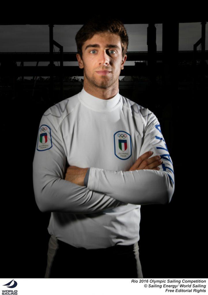 Francesco Marrai, Laser. Foto Sailing Energy