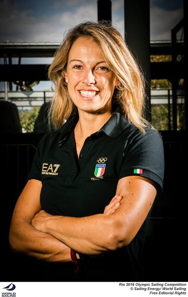 Flavia Tartaglini, RS:X F. Foto Sailing Energy