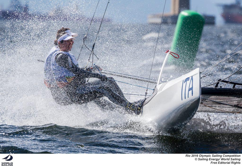 Bissaro-Sicouri oggi a Rio. Foto Sailing Energy