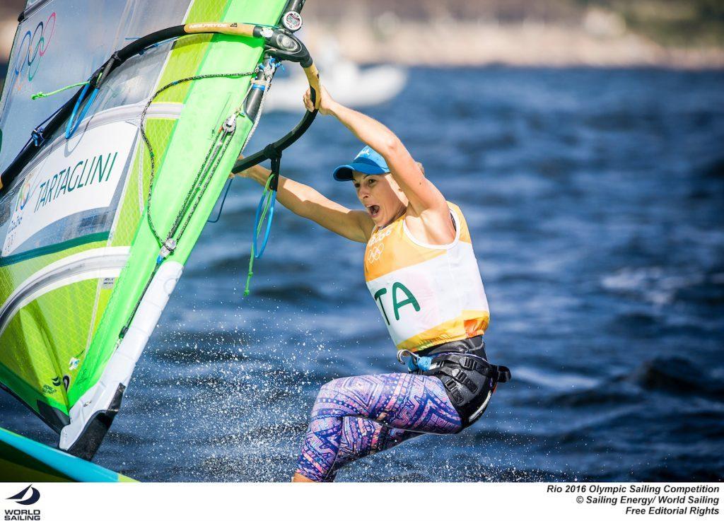 Flavia Tartaglini si giocherà domenica le sue chance di Oro olimpico. Foto Sailing Energy