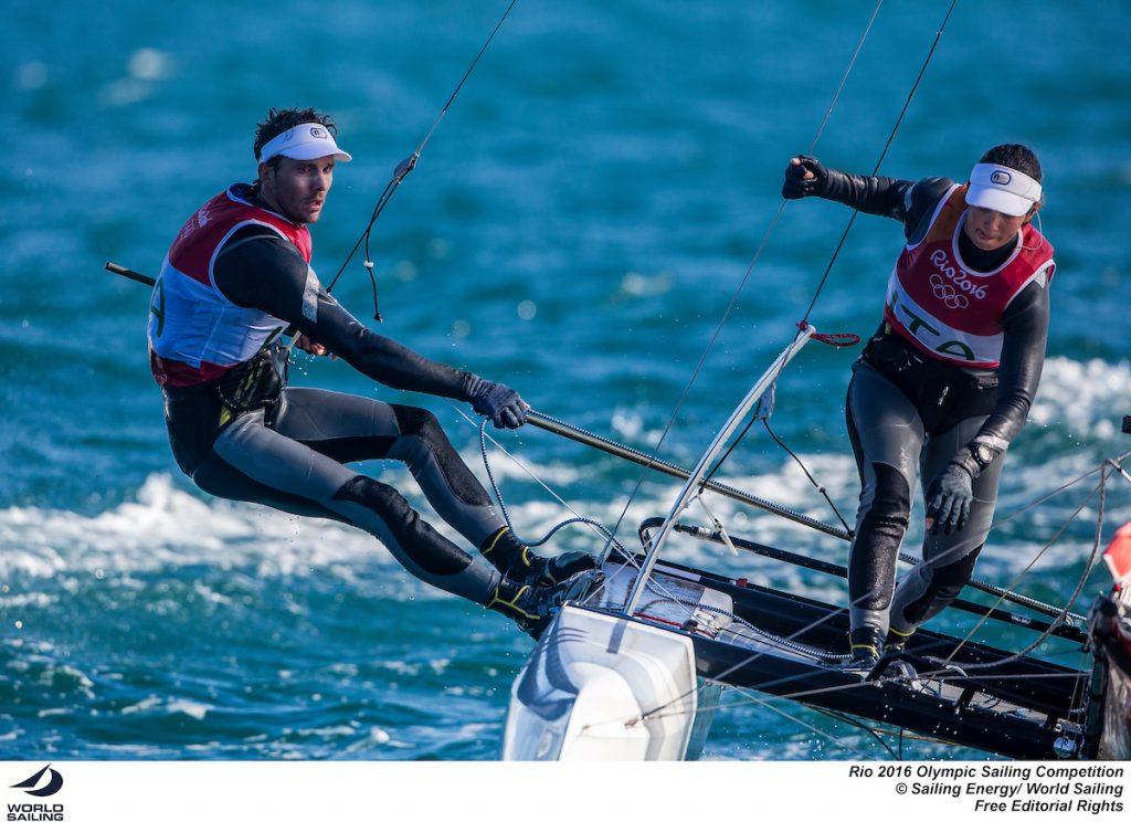 Vittorio Bissaro e Silvia Sicouri. Foto Sailing Energy