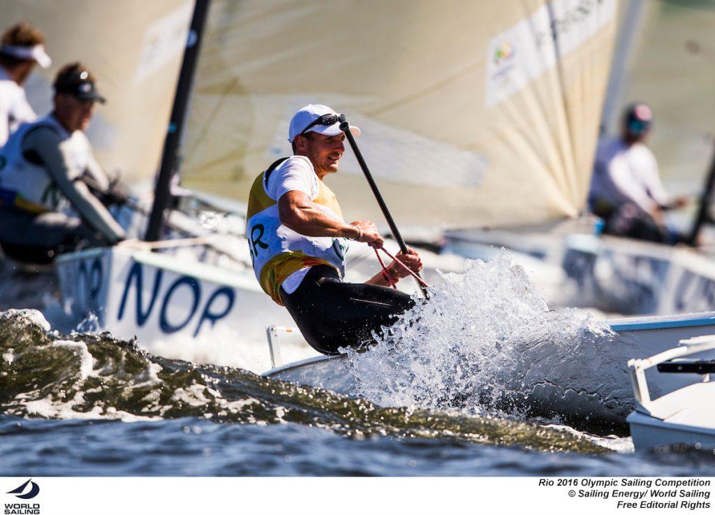 Giles Scott, Oro a Rio 2016 sul D-Fantastica. Foto Sailing Energy