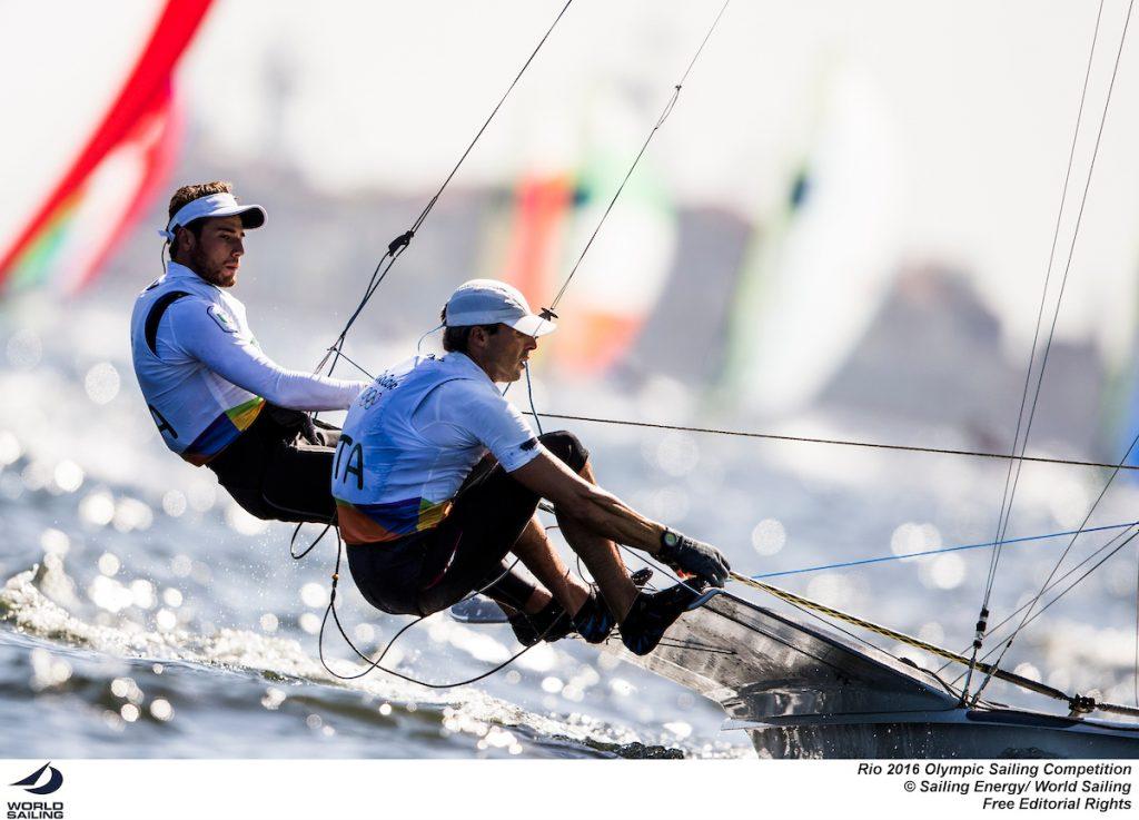 Ruggero Tita e Pietro Zucchetti. Foto Sailing Energy