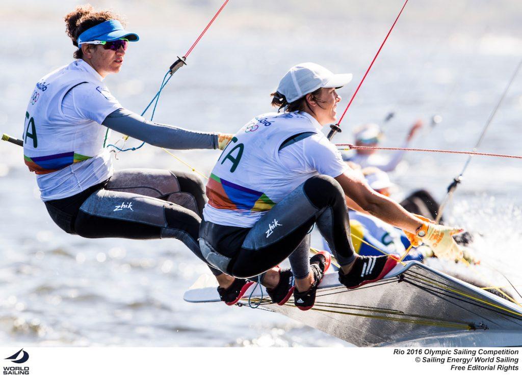 Giulia Conti e Francesca Clapcich, attese dalla giornata decisiva. Foto Sailing Energy