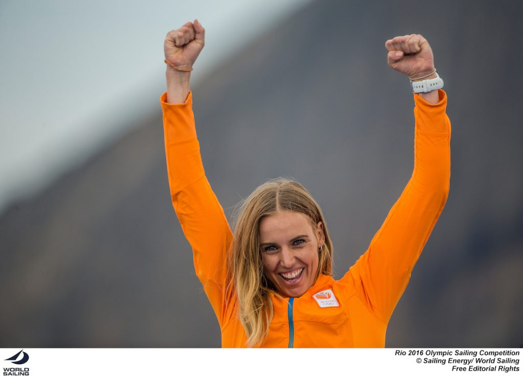 Marit Bouwmeester. Photo Sailing Energy
