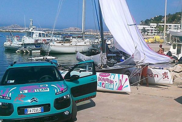 Il Cat dei Malingri a Marsiglia pronto per la partenza