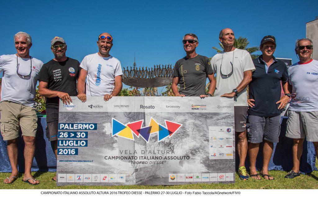 I campioni italiani 2016. Foto Taccola
