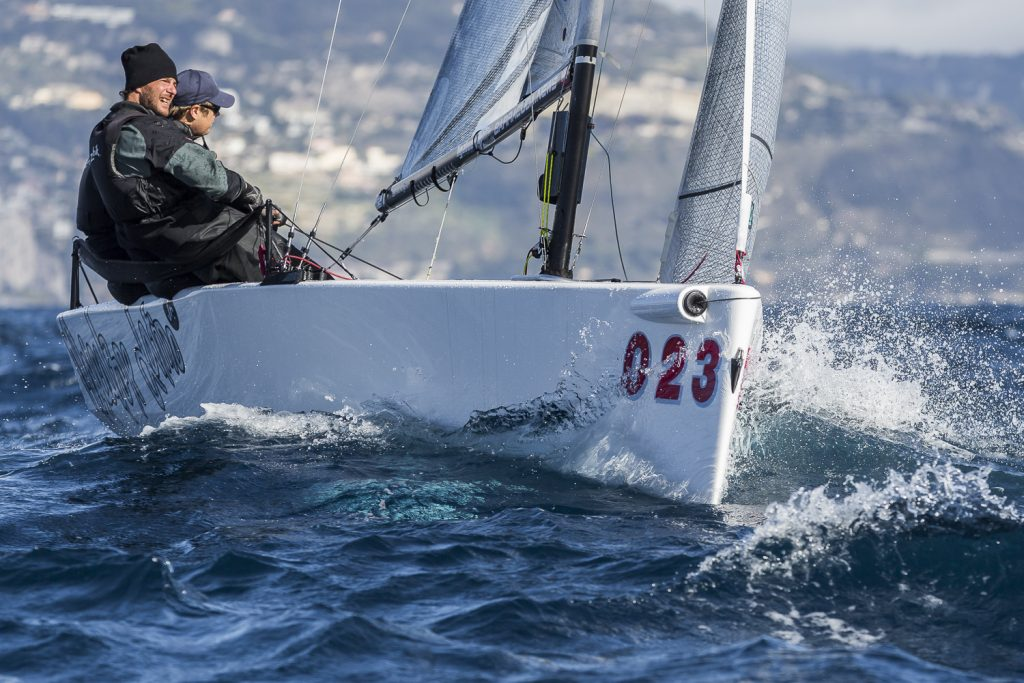 Mascalzone Latino Junior in regata a Monaco