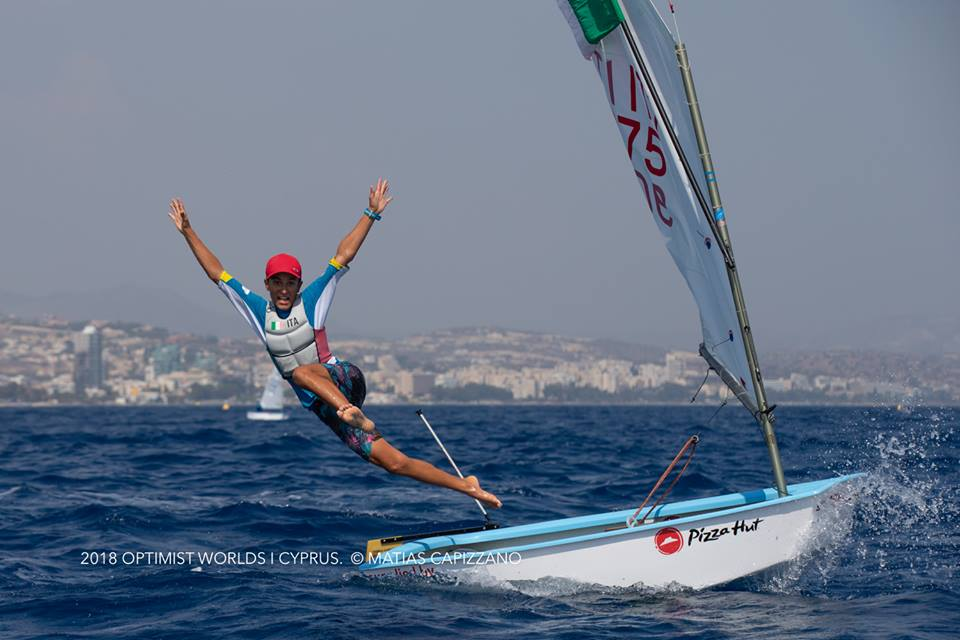 Marco Gradoni did it again... Mondiale Optimist per il secondo anno consecutivo